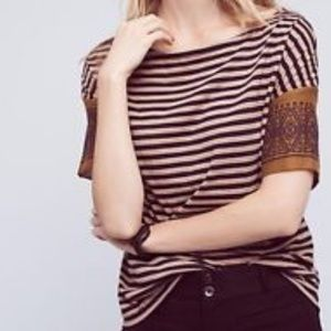 Anthropologie Lillies closet striped tee